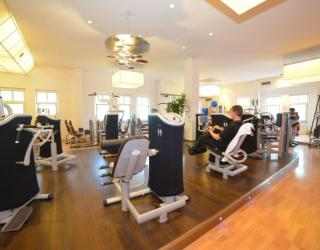Innenansicht Body Up Fitnessstudio Ottobrunn