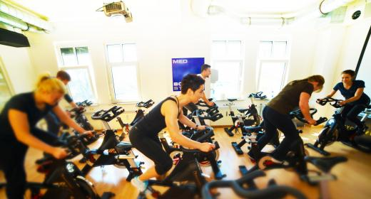 Indoor Cycling im Body Up Ottobrunn